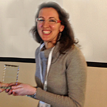 Anna Meneghello wins Poster Award at Advances in Biodetection & Biosensors 2014