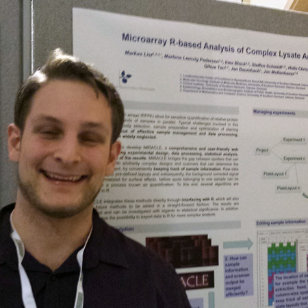 Markus List wins Poster Award at Advances in Microarray Technology 2014