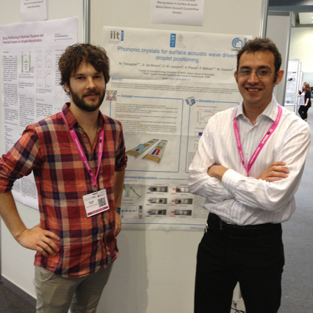 Macro Travagliati wins Poster Award at European Lab Automation 2013