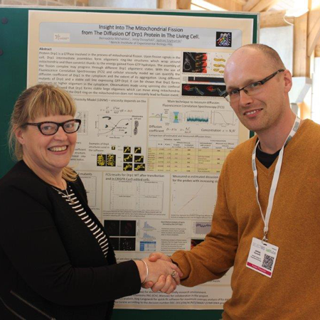 Jędrzej Szymański wins Best Poster Award at Bioimaging: From Cells to Molecules 2016