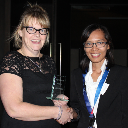 Widiastuti Setyaningsih wins Best Poster Award at the Food Analysis Congress 2014