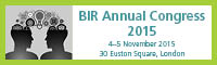 BIR Annual Congress 2015