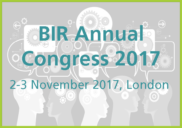 BIR Annual Congress 2017