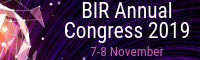 BIR Annual Congress 2019 Logo