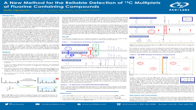A New Method for the Reliable Detection of 13C Multiplets of Fluorine Containing Compounds