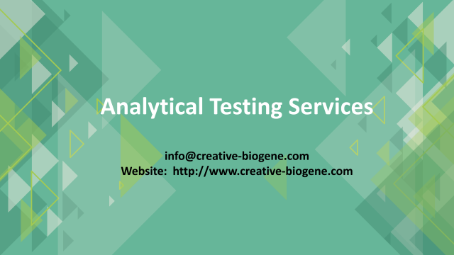 Analytical Testing Service