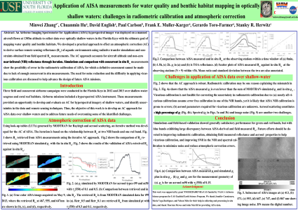 Application of AISA measurements for water quality and benthic habitat mapping in optically shallow waters: challenges in radiometric calibration and atmospheric correction