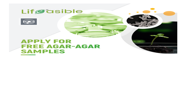 Apply for Free Agar-agar Samples