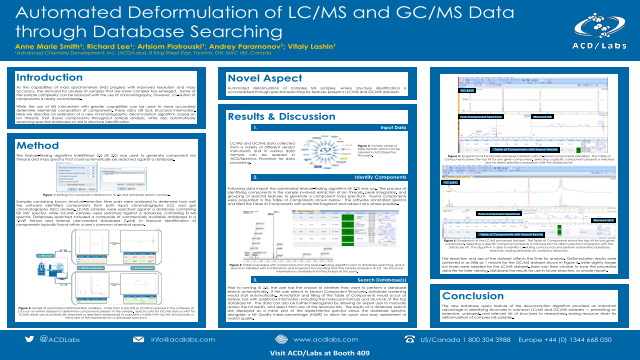 Automated Deformulation of LC/MS and GC/MS Data through Database Searching