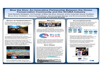 Blue the Dive: An Innovative Partnership Between the Ocean Conservation Community and the SCUBA Industry