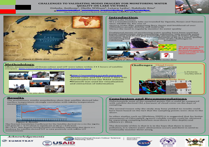 Challenges to Validating MODIS Imagery for Monitoring Water Quality on Lake Victoria