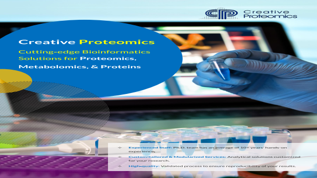 Cutting-edge Bioinformatics Solutions for Proteomics, Metabolomics, & Proteins
