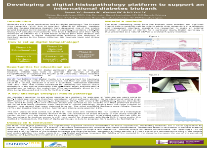 Developing a digital histopathology platform to support an international diabetes biobank