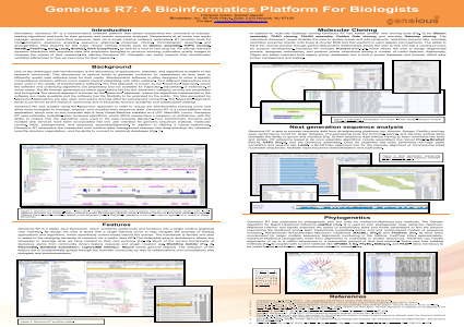 Geneious R7: A Bioinformatics Platform For Biologists