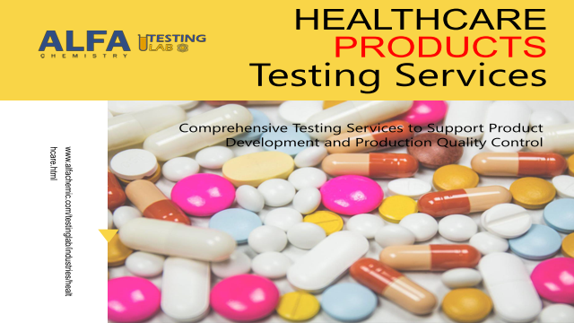 Healthcare Products Testing