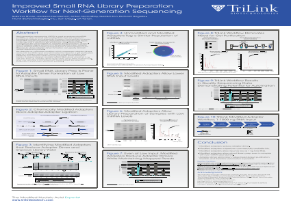 Improved Small RNA Library Preparation Workflow for Next-Generation Sequencing