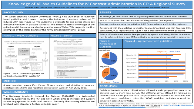 Knowledge of All-Wales Guidelines for IV Contrast Administration in CT: a Regional Survey