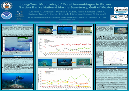 LONG-TERM MONITORING OF CORAL ASSEMBLAGES IN FLOWER GARDEN BANKS NATIONAL MARINE SANCTUARY, GULF OF MEXICO