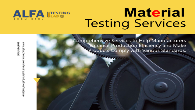 Material analysis and testing