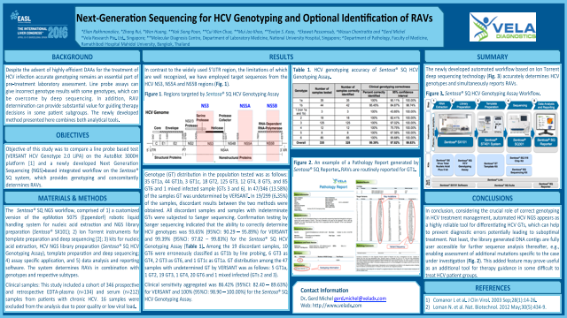 Next Generation Sequencing (NGS) for HCV Genotyping and optional Identification of Resistance-Associated Variants