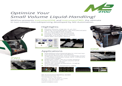 Optimize Your Small Liquid-Handling