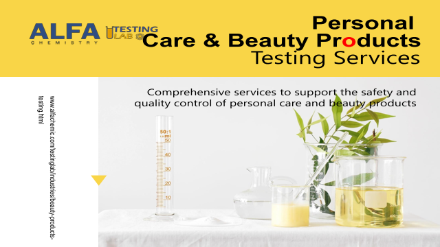 Personal Care Beauty Products Testing Services