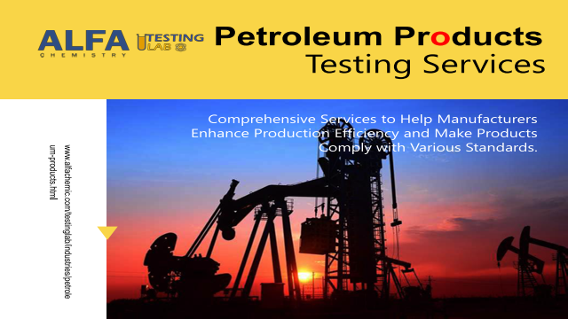 Petroleum Products Testing Services