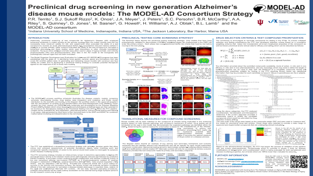 Preclinical drug screening in new generation Alzheimer's disease mouse models: The MODEL-AD Consortium Strategy