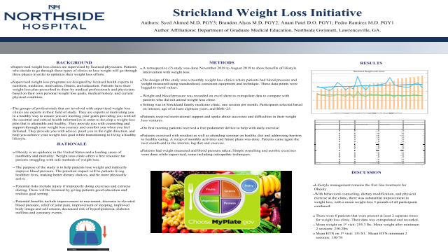 Resident: Strickland Weight Loss Initiative