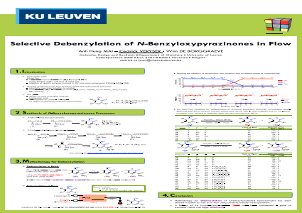 Selective Debenzylation of N-Benzyloxypyrazinones in Flow
