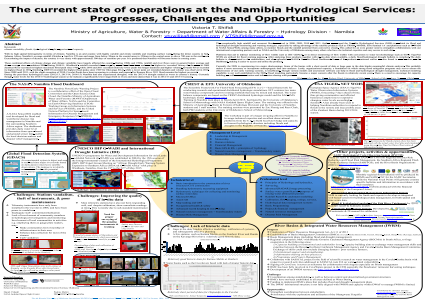 The current state of operations at the Namibia Hydrological Services: Progresses, challenges and opportunities