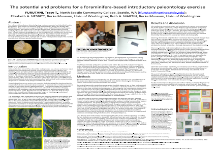 The potentials and problems of a foraminifera-based introductory paleontology exercise