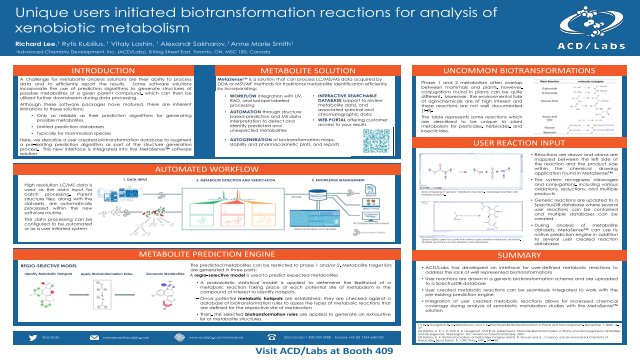 Unique Users-Initiated Biotransformation Reactions for Analysis of Xenobiotic Metabolism